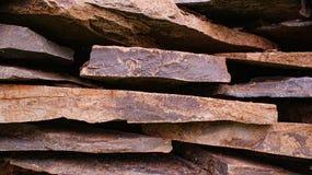 De stukken van de steen Stock Afbeeldingen