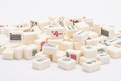 De stukken van het de raadsspel van Mahjong royalty-vrije stock fotografie