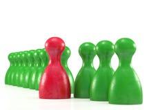 De stukkensymbool van het raadsspel voor leiding Stock Afbeelding