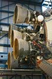 De stuwrakettenmotor van Apollo stock afbeelding