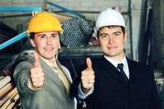 De succesvolle industrie stock foto's
