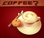 De suggestie van de koffie. royalty-vrije stock foto's
