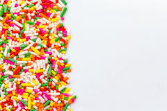 De suiker bestrooit royalty-vrije stock foto's
