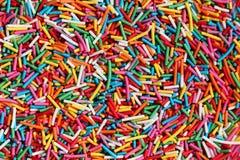 De suiker bestrooit Stock Foto's