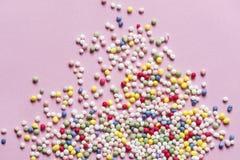 De suiker bestrooit royalty-vrije stock afbeelding
