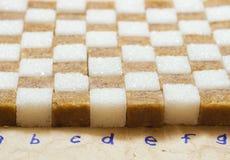De suiker van het stuk Stock Foto's