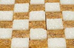 De suiker van het stuk Royalty-vrije Stock Fotografie
