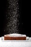 De suiker van het suikerglazuur het vallen royalty-vrije stock afbeelding