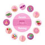 De Suikergoedwinkel Stock Foto