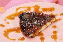 De suikerpastei van de karamel Stock Foto