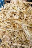 De suikerrietbagasse kan als document, brandstof, vernieuwbare ener worden gerecycleerd royalty-vrije stock foto's