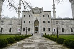 De Suleymaniye-moskee in Istanboel Royalty-vrije Stock Fotografie