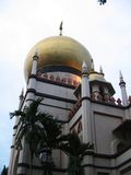 De Sultan van de moskee Stock Foto