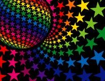 De super Achtergrond van de Disco Stock Afbeelding
