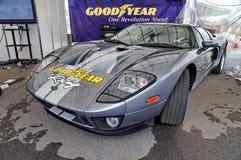 De super auto van GT van de doorwaadbare plaats op vertoning Stock Fotografie