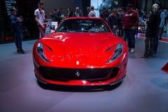 De super auto van het sportenconcept stock afbeeldingen