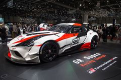 De super auto van het sportenconcept royalty-vrije stock afbeelding