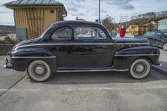 1948 de Super Luxecoupé van Ford 899A Royalty-vrije Stock Afbeeldingen