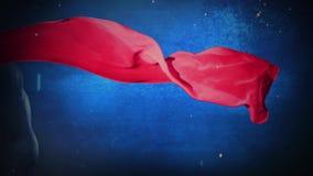 De super Muur van Kaap Blauwe Grunge 4K vector illustratie