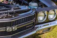 1970 de Super Sport van Chevrolet Chevelle Stock Fotografie
