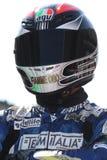 De Super-stock Barni van Danilo Petrucci Ducati 1198R Royalty-vrije Stock Afbeelding