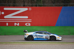 De Super Trofeo 2016 test van Lamborghini Huracà ¡ n in Monza Stock Fotografie