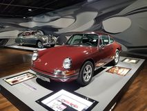 De supercar koele auto van Porsche 1968 royalty-vrije stock foto