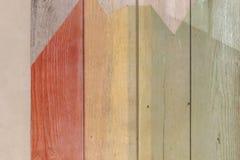 De superfície Textured de placas de madeira Fotografia de Stock