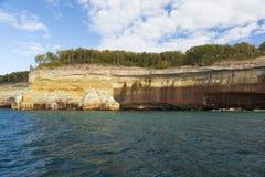 De Superieure Klip van het meer stock foto