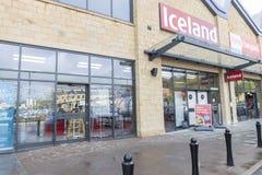 De supermarkt die van IJsland spoedig bij Vosvallei openen royalty-vrije stock afbeelding