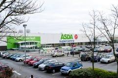 De supermarkt van Asda minworth Stock Foto