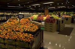 De supermarkt van de kruidenierswinkelopslag Stock Fotografie