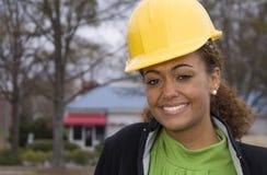 De Supervisor van de bouw Stock Afbeelding