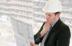 De supervisor van de bouw Royalty-vrije Stock Foto's