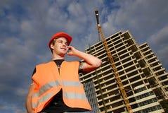De supervisor van de bouw royalty-vrije stock fotografie
