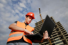 De supervisor van de bouw Royalty-vrije Stock Afbeelding