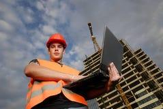 De supervisor van de bouw Stock Foto