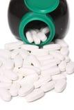 De supplementen van de calciumvitamine Stock Fotografie