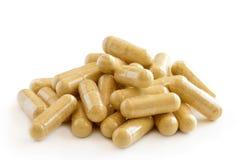De supplementen van de gezondheidsvitamine Stock Afbeeldingen