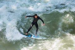 De Surfer van München Stock Afbeelding