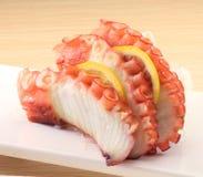 De sushi van de octopus Stock Fotografie