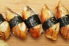 De sushi van de paling Stock Afbeelding