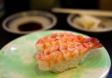 De Sushi van garnalen Stock Fotografie