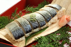 De sushi van het broodje Stock Foto