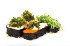 De sushi van het druivenzeewier Royalty-vrije Stock Foto's