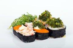 De sushi van het druivenzeewier Royalty-vrije Stock Foto