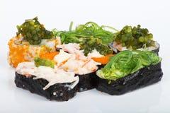 De sushi van het druivenzeewier Stock Foto's