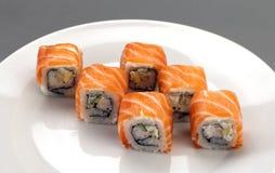 De sushi van het voorgerecht Stock Afbeelding