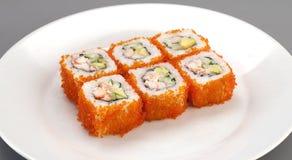 De sushi van het voorgerecht Stock Foto