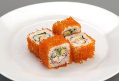 De sushi van het voorgerecht Stock Afbeeldingen